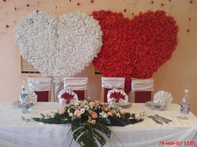 оформление стола жениха и невесты своими руками - Портал для самоучек