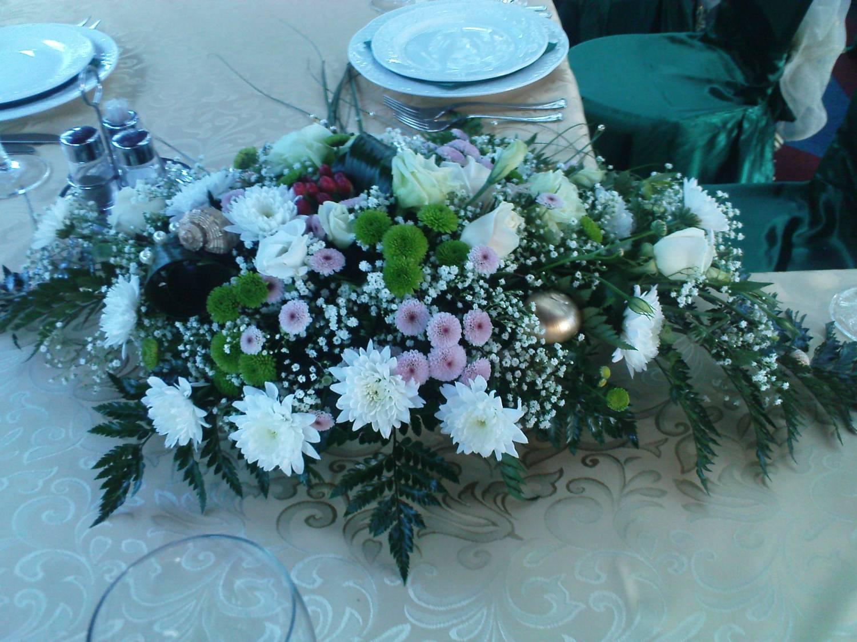 Букет на стол жениха и невесты своими руками